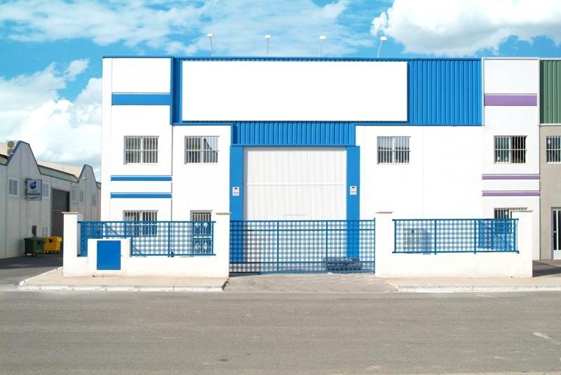 Protektor festék ipari épületen - festés után